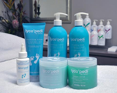 lyco'pedi - LYCON's complete pedicure system!