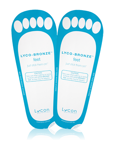 LYCO-BRONZE FEET
