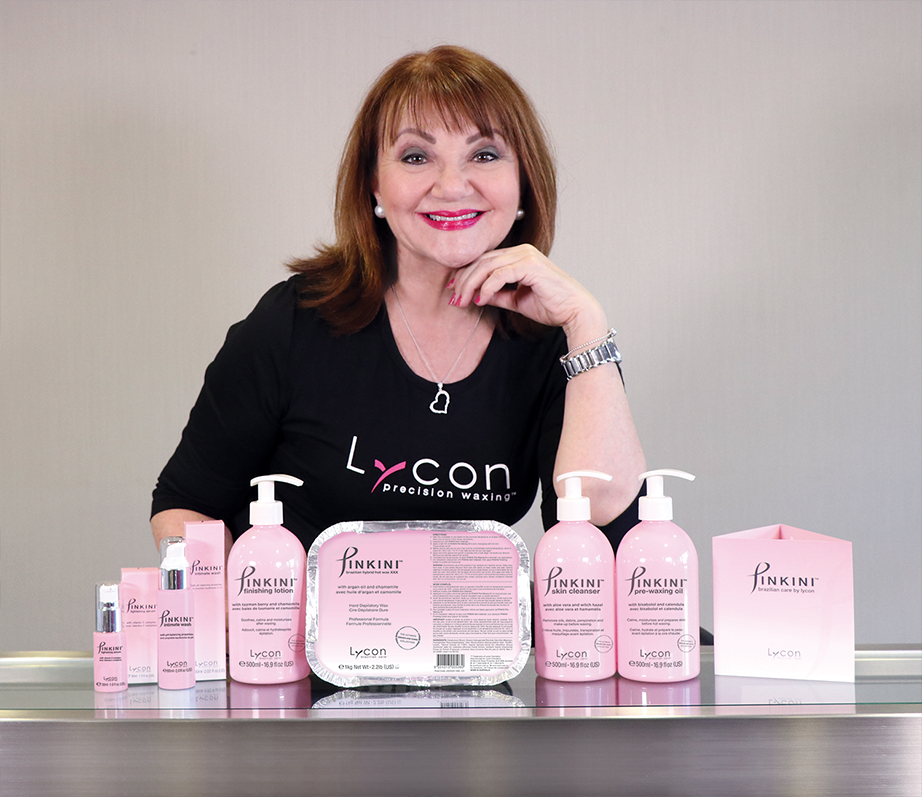 Lydia Jordane with Pinkini Collection