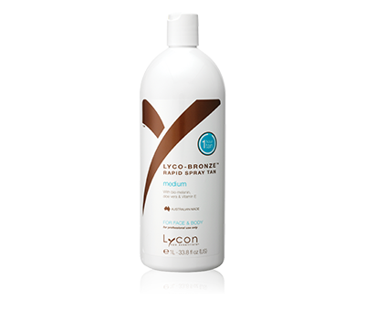LYCO-BRONZE RAPID SPRAY TAN