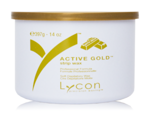 LYCON Strip Wax Tin Active Gold