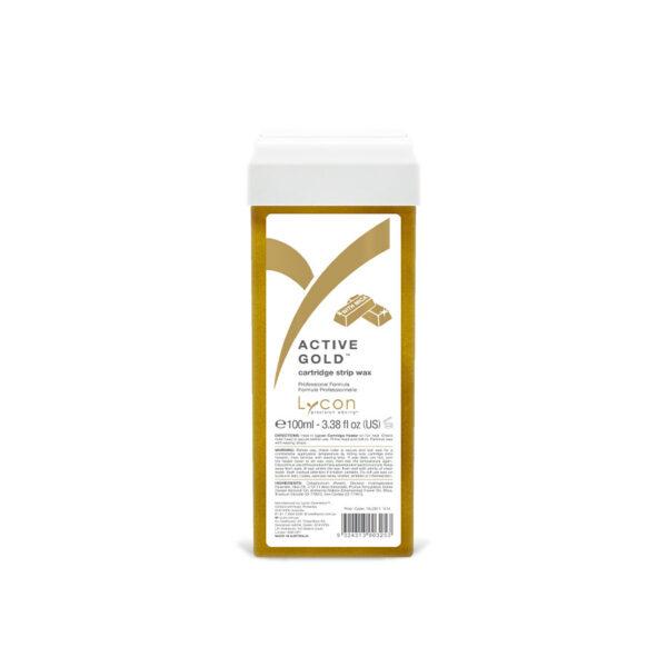 Active Gold Strip Wax Cartridge 100ml
