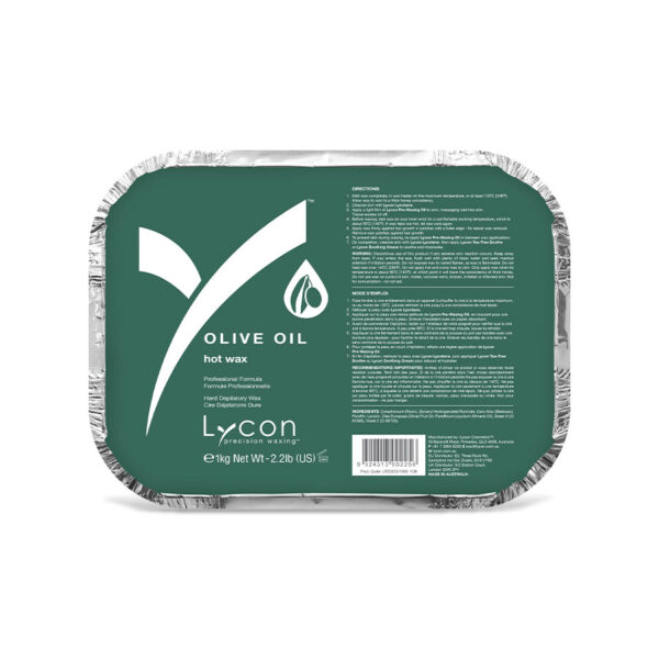 Olive Oil Hot Wax 1kg