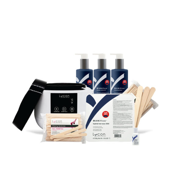 MANifico Professional Hot Waxing Kit