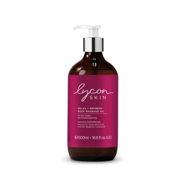 Relax + Refresh Body Massage Oil 500ml